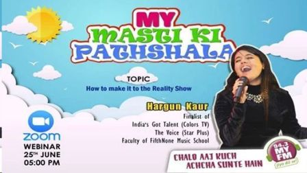 Hargun's How to make it to TV Reality Show webinar