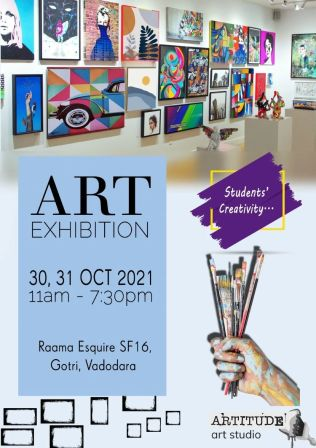 Art Exhibition by Artitude Art Studio
