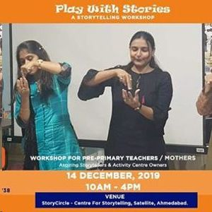 Play with Stories - StoryTelling Workshop for Teachers