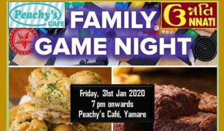 Family Board Game Night @Peachy`s Cafe