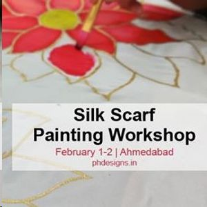 Silk Scraf Painting Workshop