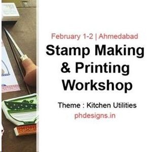 Stamp Making & Printing Workshop