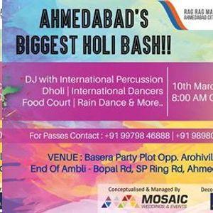 Ahmedabad`s Biggest Holi Bash City KI HOLI