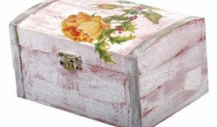 Decoupage boxes by The Living Walls