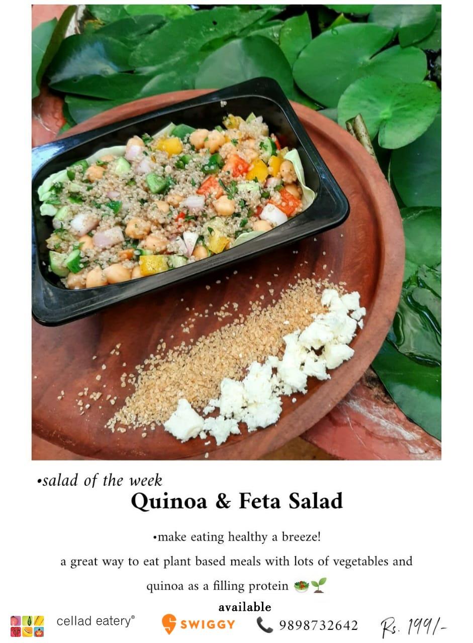 #Quinoa and #Feta Salad - #SaladOfTheWeek