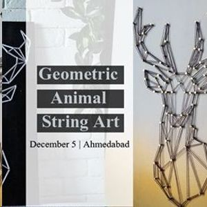 Geometric Animal String Art