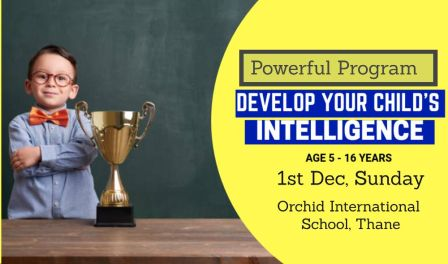 Igniting Minds - Brain Development Workshop for kids aged 5 to 16 years