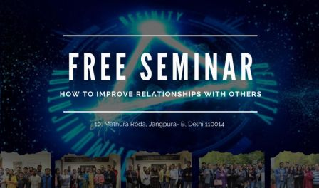 How To Improve Relationship With Others (Free Seminar)