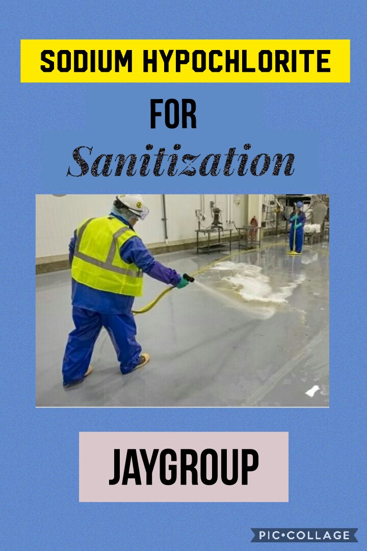 Sodium Hypochloriite - for Sanitazation of your homes, offices, industries and commercial establishments.