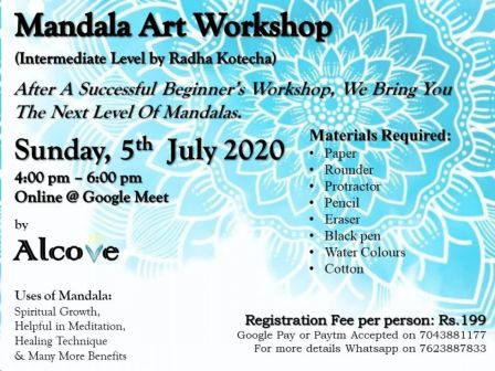 Mandala Art Workshop (Intermediate)