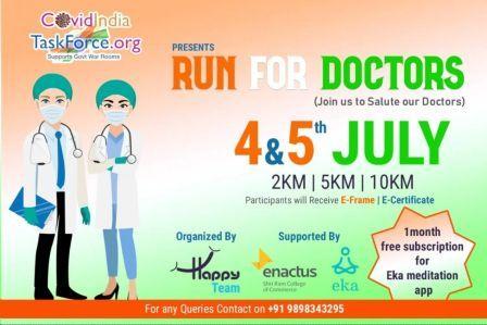 Run for Doctors: A charity Virtual Run