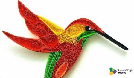 Quilling art workshop by The Living Walls