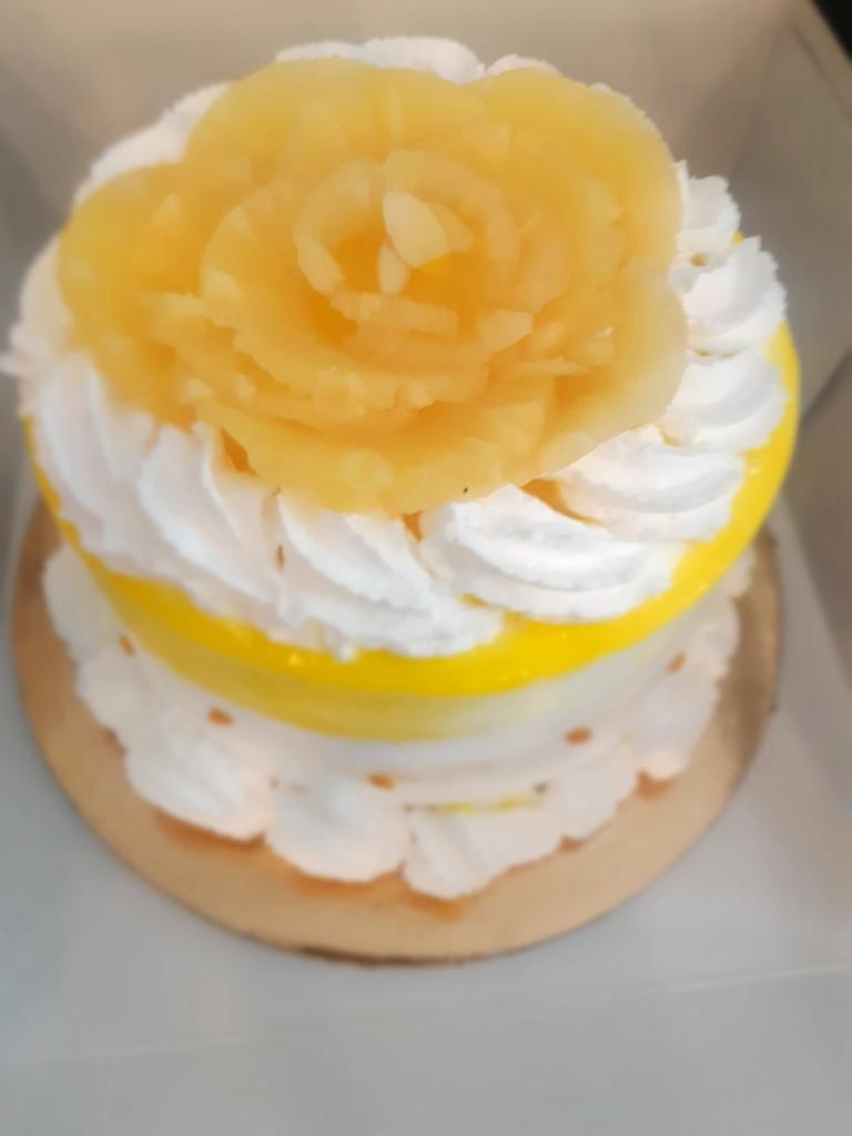 Fresh Pineapple Cake @INDULGENCE