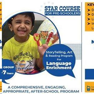StoryTelling, Art & Reading Program for Language